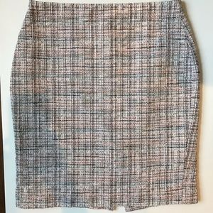 Banana Republic Wool Plaid Skirt Size 6